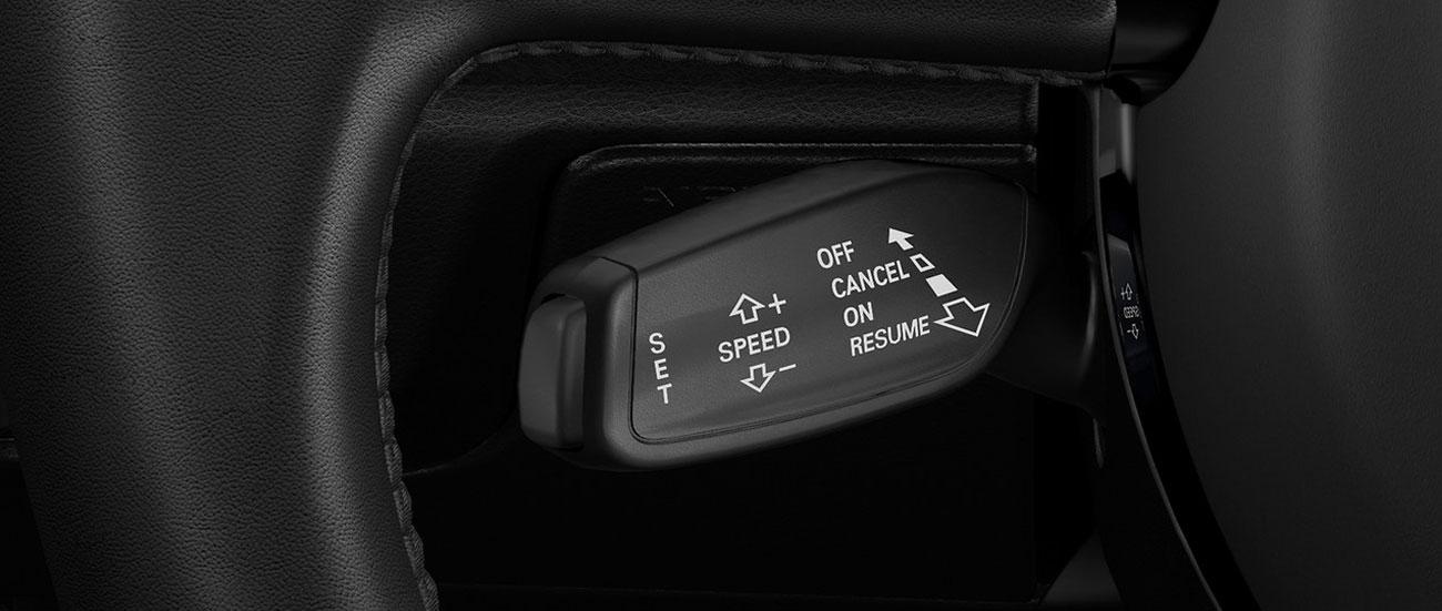 Instalación del control automático de velocidad