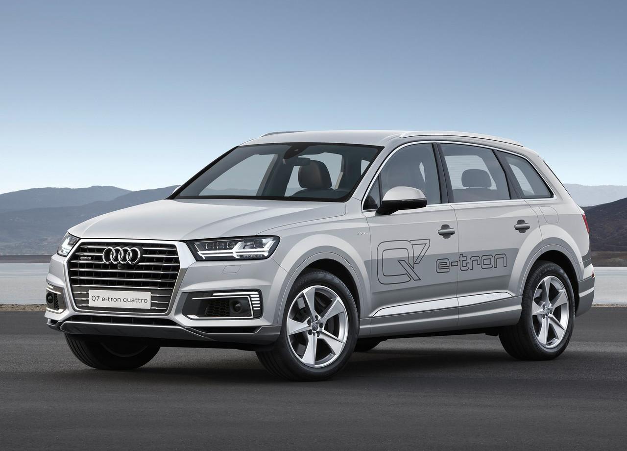 Nueva normativa gasolina - Audi Q7 e-tron quattro