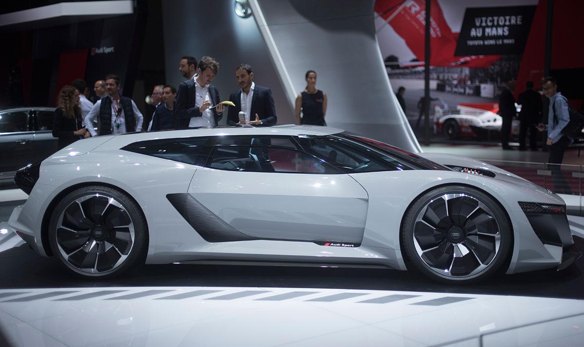 Salón de París 2018: Audi PB18 e-tron concept car