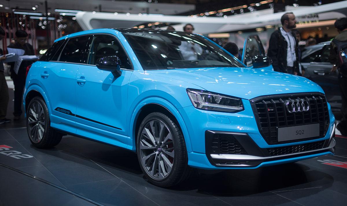 Salón de París 2018: Audi SQ2