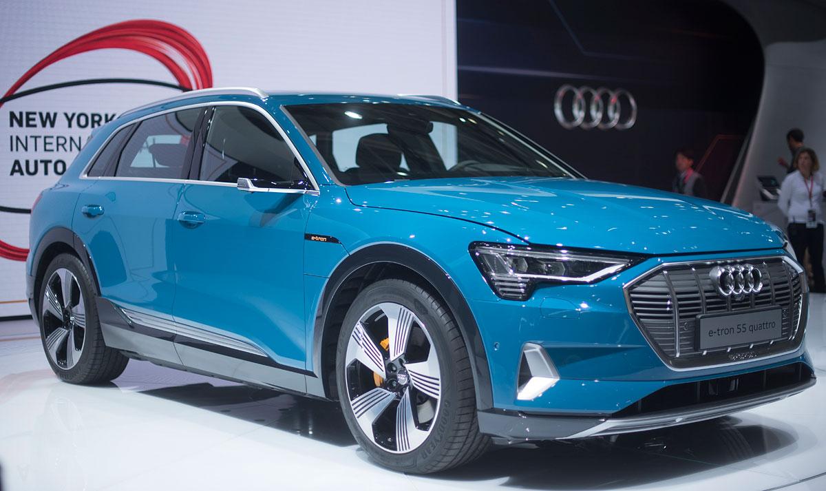 Salón de París 2018: Audi e-tron