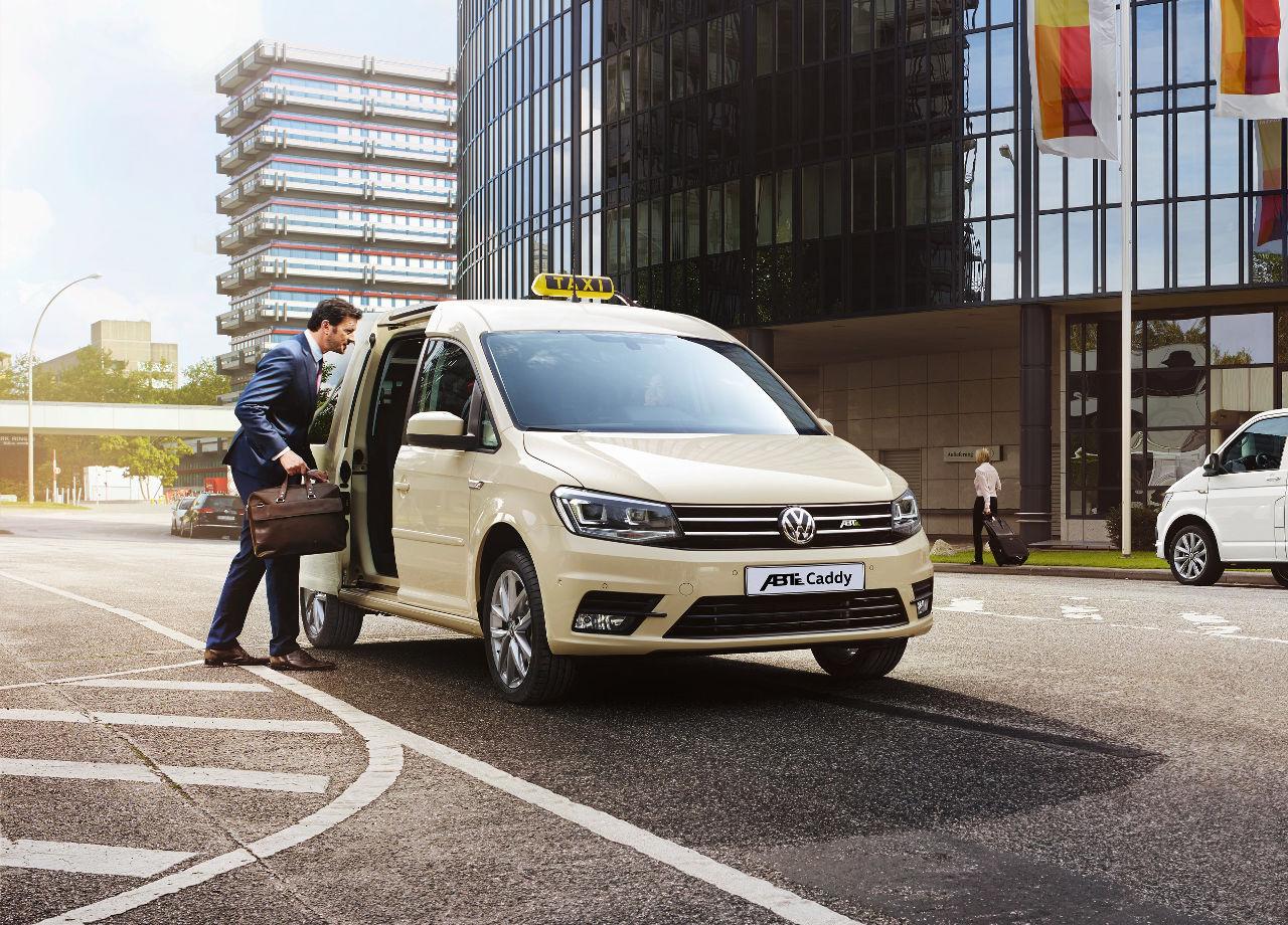 Nuevos modelos - Volkswagen ABT e-Caddy