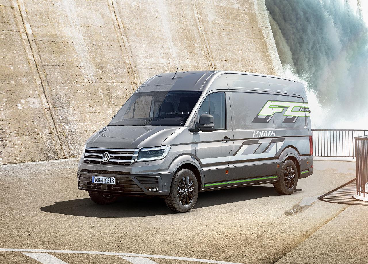 Nuevos modelos - Volkswagen Crafter HyMotion