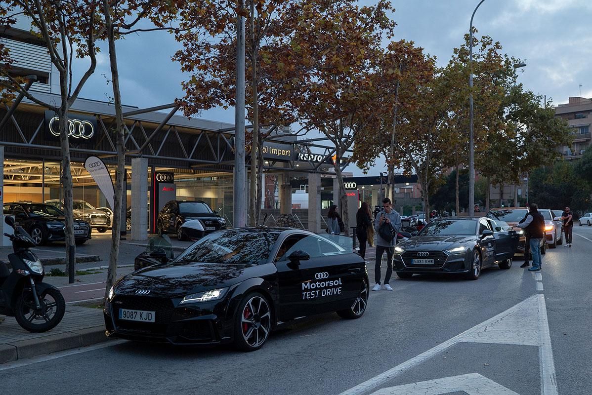 Test Drive en Motorsol Audi