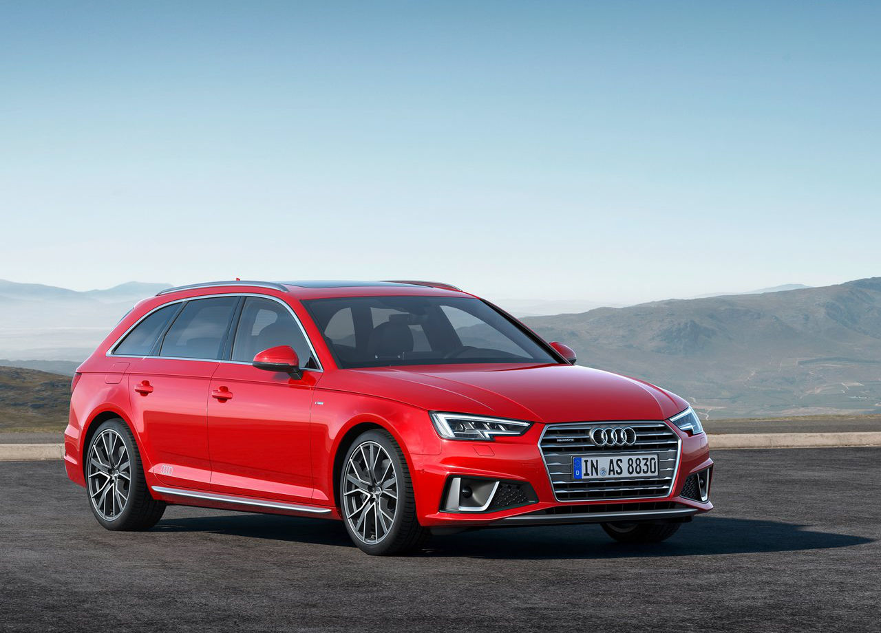 Etiqueta ECO - Audi A4 Avant 2019