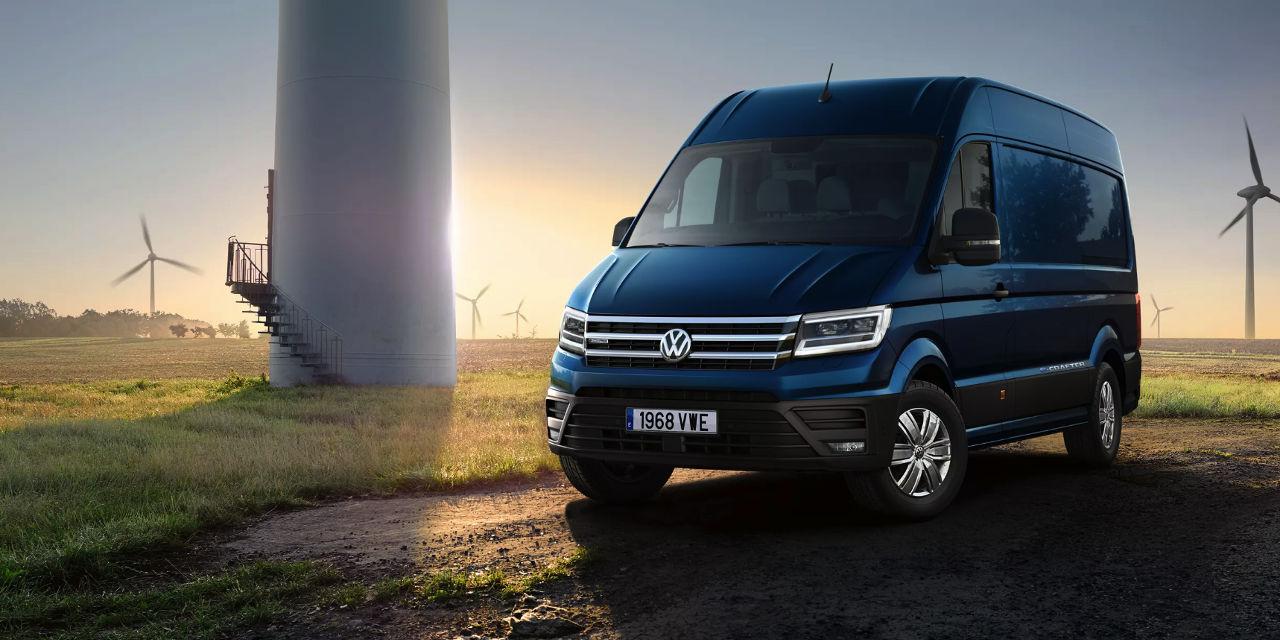 Las novedades de Volkswagen Comerciales en 2019 - Volkswagen e-Crafter