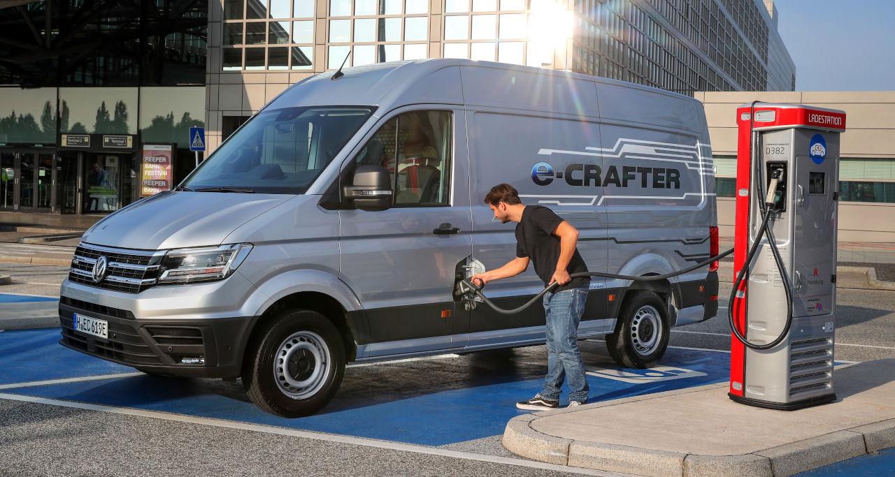 Volkswagen Vehículos Comerciales completa su gama 100% eléctrica