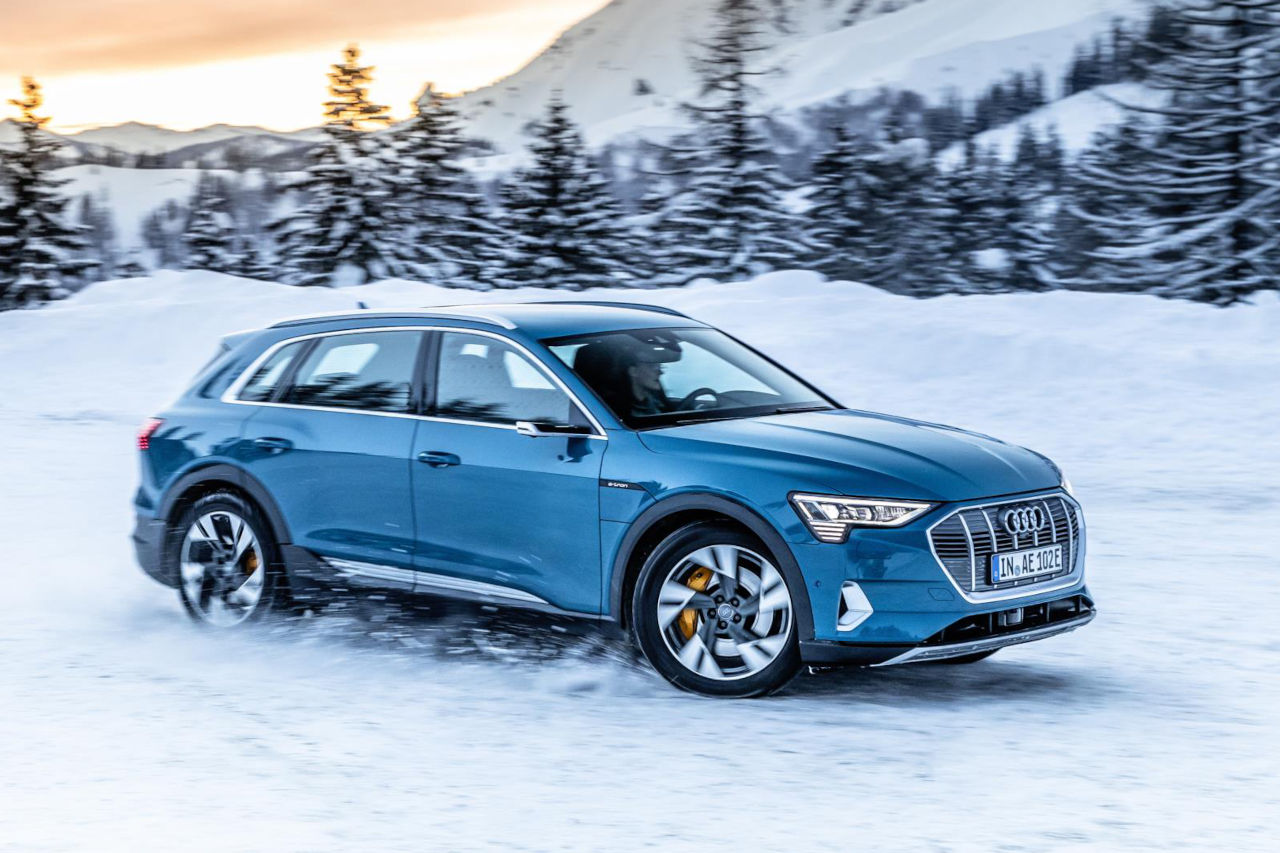 El Audi e-tron ya está preparado para la carga inteligente y optimizada del futuro
