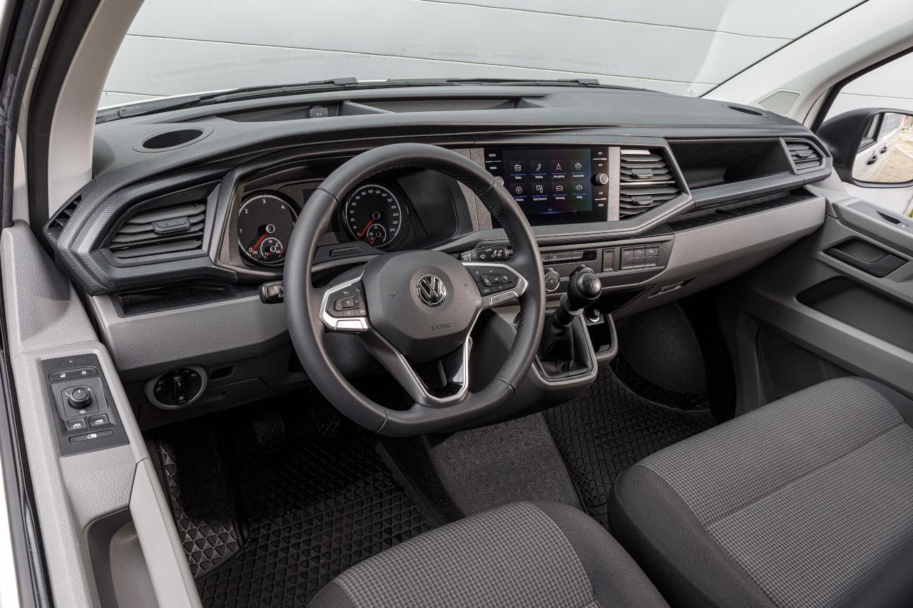 Volkswagen Transporter T6.1 gana la Medalla de Oro Euro NCAP