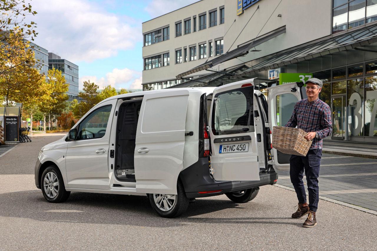 El nuevo Caddy crece e introduce sistemas de asistencia a la conducción inéditos en su segmento