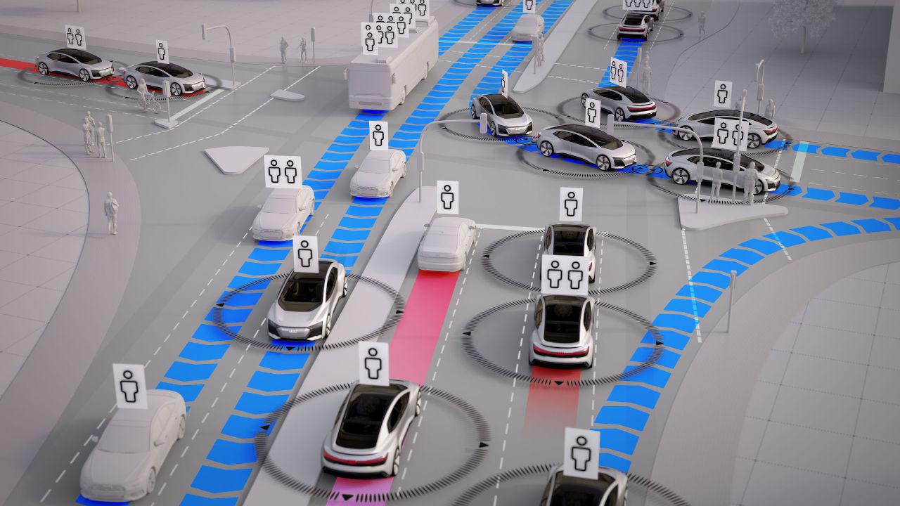 Audi aprovecha el almacenamiento en la nube para alertar al conductor de las carreteras deslizantes