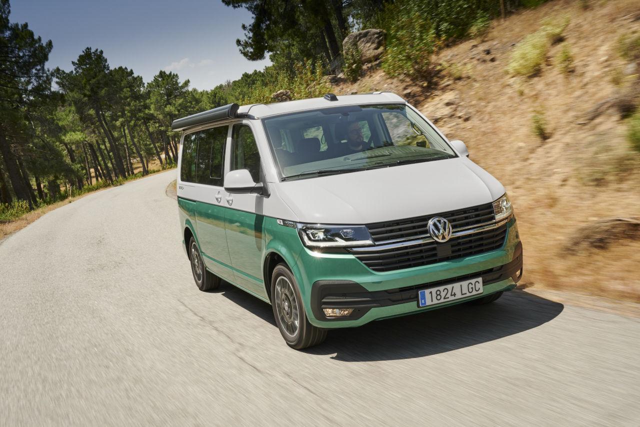 10 motivos que convierten al Volkswagen California en el favorito de los campistas